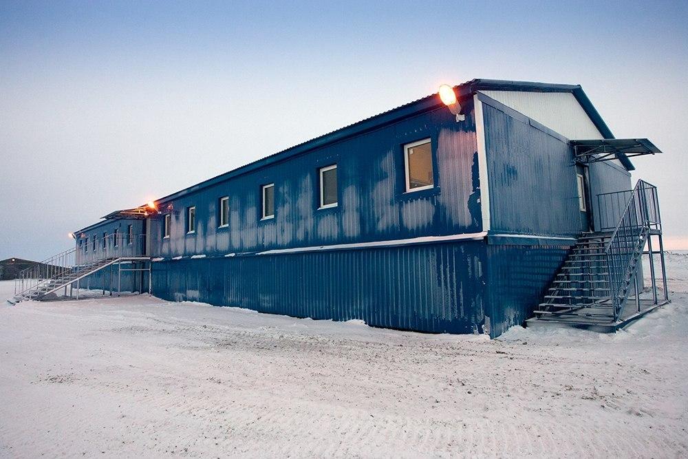 Общежитие из модулей