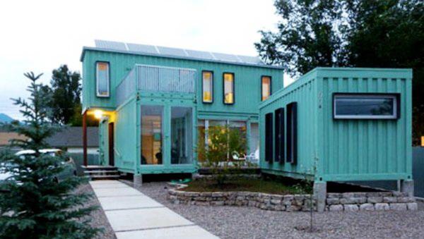 Жилой модульный дом