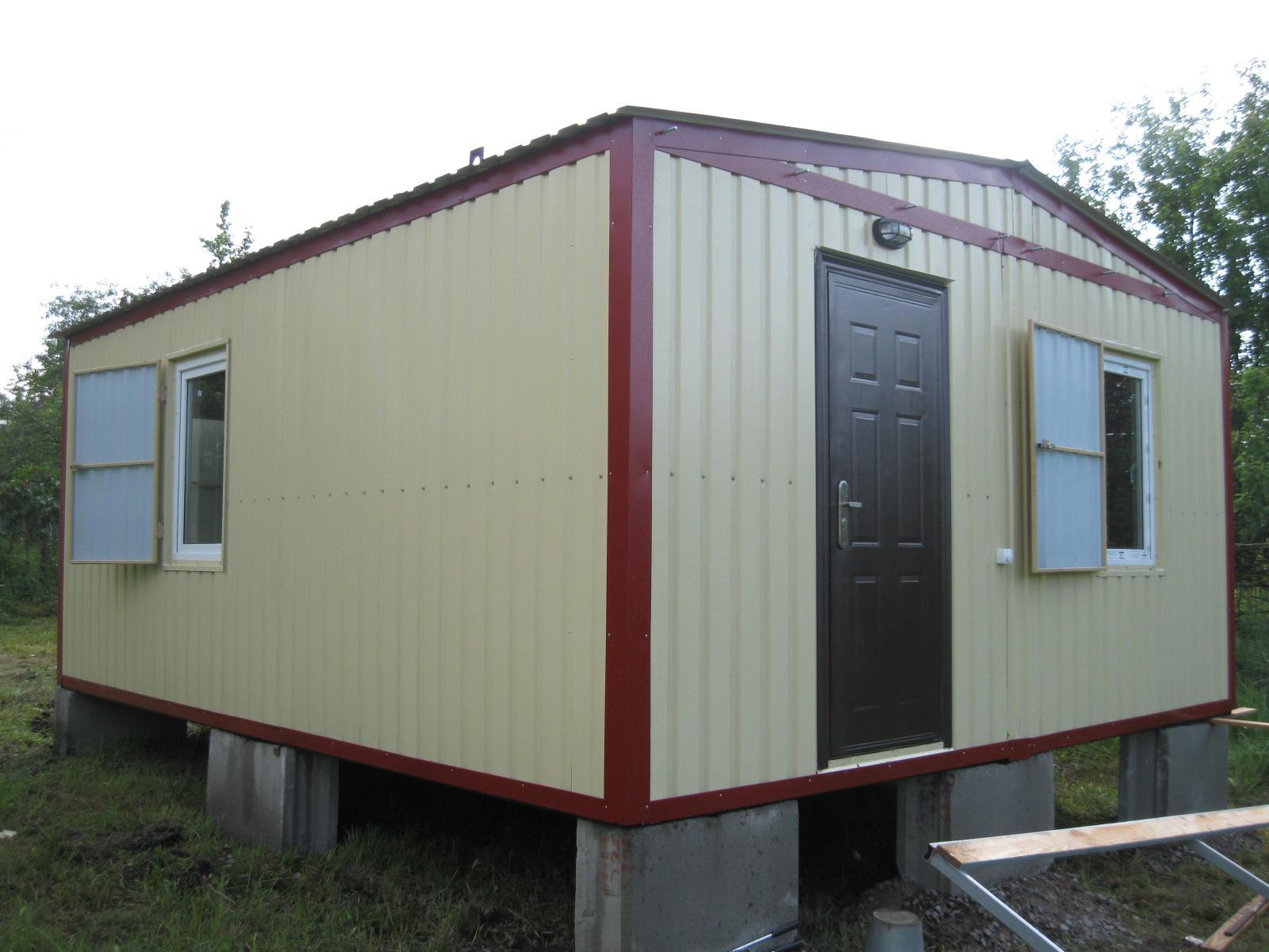 Здание из блок модулей