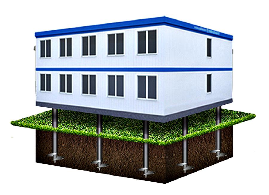 Сейсмоустойчивая установка здания