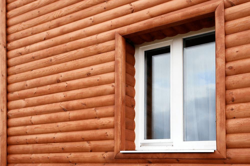 отделка фасада в частном доме