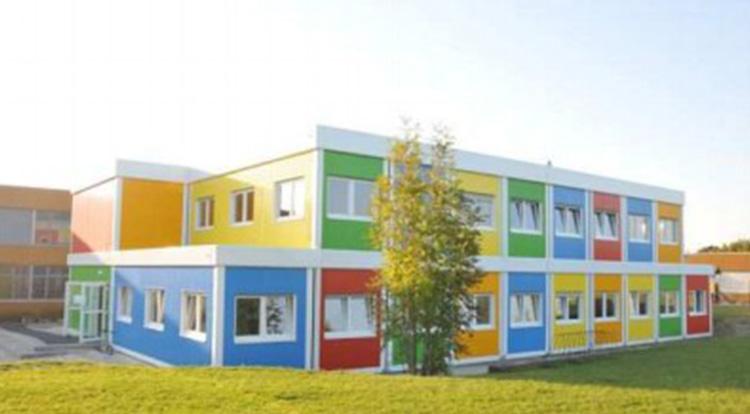 Модульные здания,  модульный детский сад