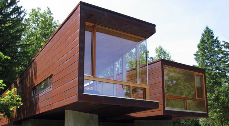 Модульные здания,  модульные дачные дома