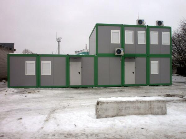 модульное здание - цена в Днепре