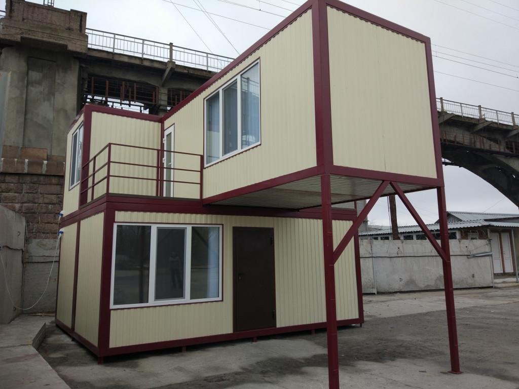Модульный офис 60м2 + террасы 9м2
