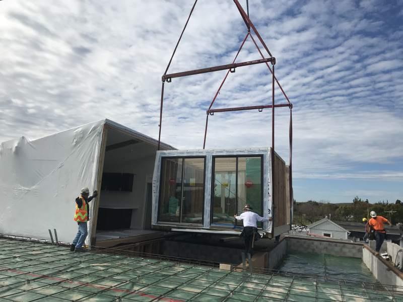 Процесс строительства модульных домов