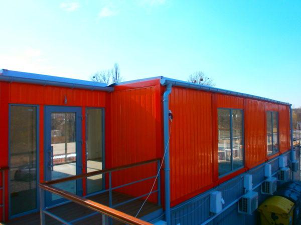 Modułowy budynek 85 m2